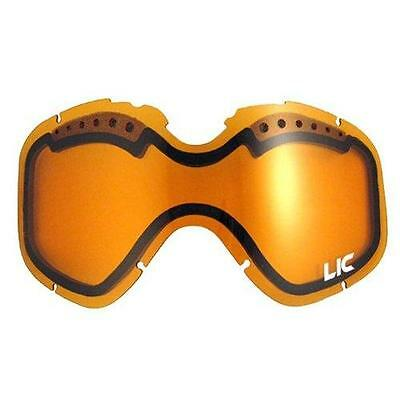 Liquid Image AMBER HD Video Snow Goggles Replacement Dual Lens 631