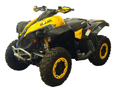 New Can Am Renegade Atv Over Fenders Flares Wide Mud Guards Custom Fit Canam Brp