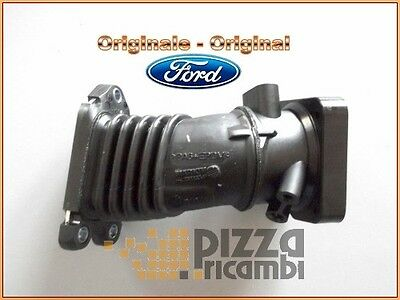 FRP*MANICOTTO COLLETTORE ASPIRAZIONE INTERCOOLER FORD FIESTA 1.6 TDCI 04<12 hose