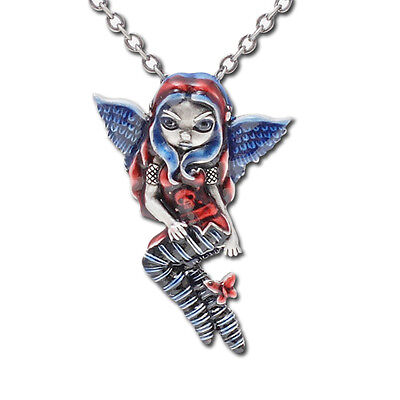 Jasmine Becket Griffith Despair Fairy Pendant Necklace.premium Licensed Jewelry