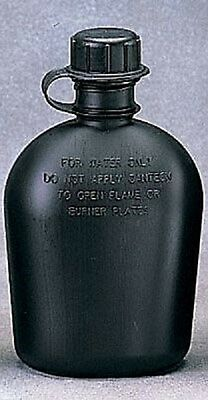 US Police Army Polizei SWAT Feldflasche Canteen Water bottle black schwarz