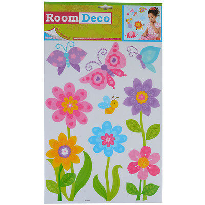 Wholesale Job Lot 48 Packs New Room Decor Removable Wall Stickers - Flowers