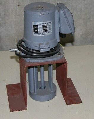 Used Yeong Chyung Industries Coolant Motor Pump 1/8 H.P.