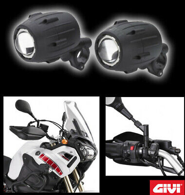 faretti fari supplementari givi s310 trekker light honda nc 700 x nc 700 s