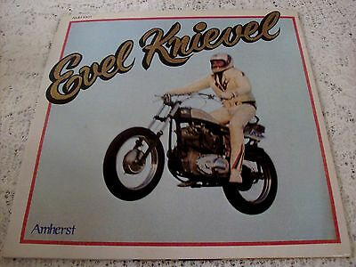Evel Knievel ~ 1974 Amherst Amh-1001 ~ With The Bonus Photo