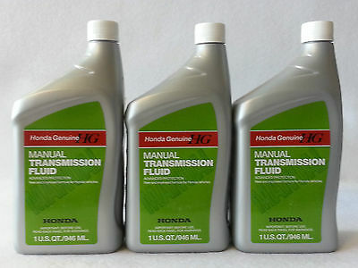3-Quarts Genuine Honda Manual Transmission Fluid MTF 08798-9031