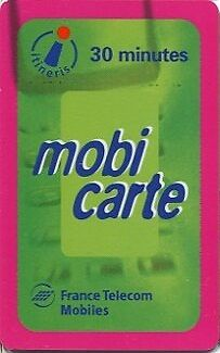 Mobicarte N° 7  Date 12/2001  Qualite Luxe