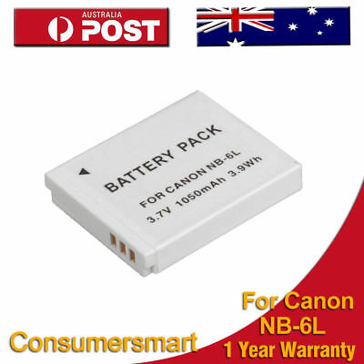 Battery For Canon NB-6L NB-6LH IXUS 25 85 95 IS IXY AU