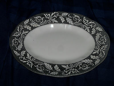 English Ironstone Sterling Renaissance Platter, Vintage
