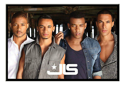 Framed JLS Poster Ready To Hang New