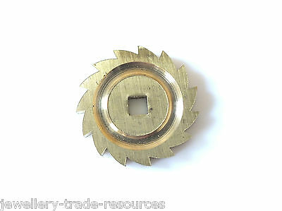 New Fusee Clock Ratchet Click Gear Wheel For Spares & Repairs