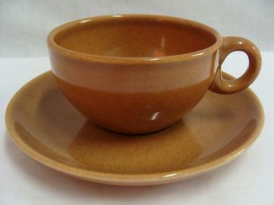 IROQUOIS RUSSEL WRIGHT CASUAL CHINA APRICOT PATTERN CUP AND SAUCER