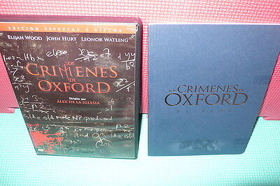 Los Crimenes De Oxford - Alex De La Iglesia - 2 Dvds