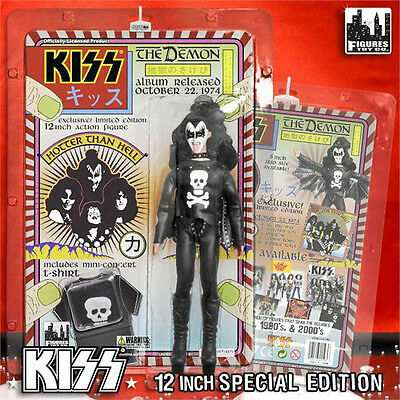 KISS 12 Inch Action Figures Series 2 Demon Hotter Than Hell Variant Gene Simmons
