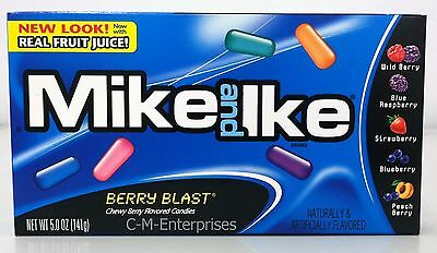 Mike and Ike Berry Blast Chewy Berry Flavored Candy  5 oz