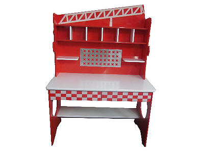 Brand New Fire Engine Theme Desk - High Quality Kids Furniture