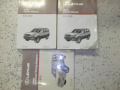 1999 lexus gs400 gs300 gs 400 electrical wiring diagram service 1999 lexus lx470 lx 470 service repair shop manual set new w wiring diagram ewd