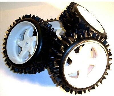05082 1/5 Scale Off Road RC Buggy Wheels and Tyres x 4
