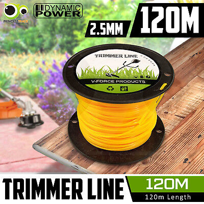 Trimmer Line 2.5mm 120m Whipper Snipper Cord Wire Brush Cutter Brushcutter Nylon