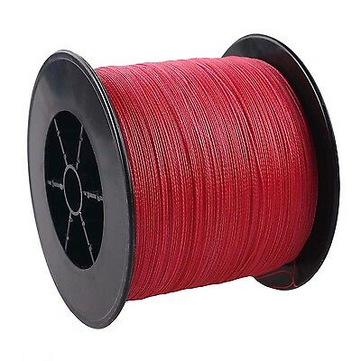 300M 6-200LB RED Color Top Quality PE Dyneema SPECTRA Braid Fishing line #NEW