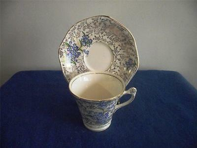 James Kent Fenton Chintz Pearl De Luxe Teacup and Saucer