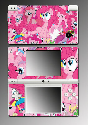My Little Pony Pinkie Pie Earth Equestria Video Game Skin Cover Nintendo DSi
