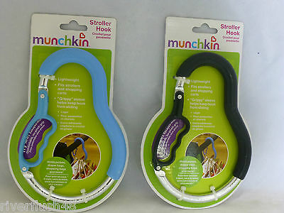 Munchkin Stroller Hook Lightweight Fits Strollers & Shopping Cart Gripply Sleeve