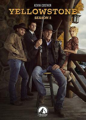 Yellowstone TV Series Complete 2nd Second Season 2 Two BRAND NEW DVD SET