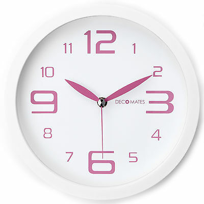 Decomates Home Decor Fresh Mint Non-Ticking Silent Wall Clock - Assorted Colors