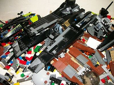 5 Pounds of Lego Parts, Star Wars, Mars & More-1Q1