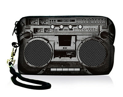 Cool Radio Digital Camera Case Soft Bag Cellphone Iphone ipod Pouch Coin Purse