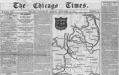 Civil War Map, Emancipation Proclamation News, Government Support Of Negroes