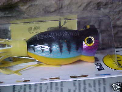 Arbogast Hula Popper 1//4oz TopWater Lure G770-07 FROG//YELLOW BELLY Bass//Pickerel