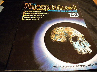 The Unexplained Orbis Issue 139 - how old is man - saucers as scapegoats