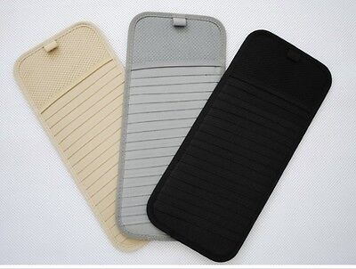 3 Colors Disks Car Visor CD DVD Disk Card Case Holder Clipper Bag Hold