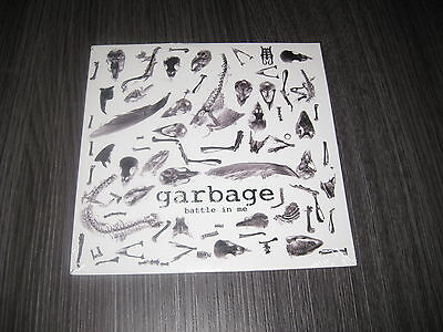 """Garbage 7"""" Battle In Me / Blood For Poppies Sealed Mint Precintado"""