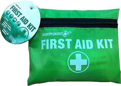 Masterplast Travel First Aid Kit 23 Pieces - Car Camping Office Home Holiday