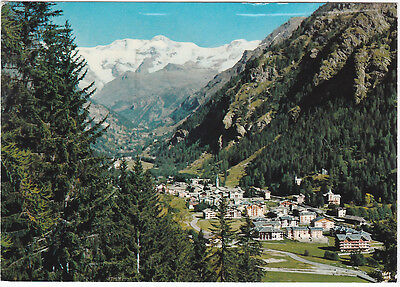 Gressoney St. Jean - Aosta - Panorama - Viagg. -55561-
