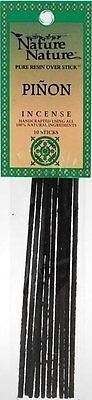 10 x PINION NATURE INCENSE STICK Wicca Witch Reiki Pagan Goth Punk YULE PINE