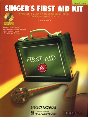 Singer's First Aid Kit Female Voice Vocal Tutor Book