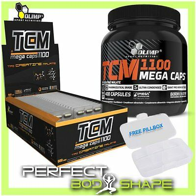 Olimp TCM Extreme Mega Caps 1100mg STRONG TRI CREATINE MALATE Anabolic LeanMass