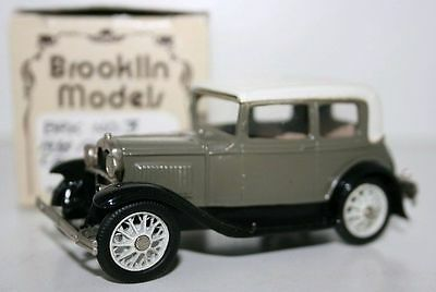 BROOKLIN 1/43 BRK3 - 1930 FORD MODEL A VICTORIA - VARIANT E - CANADIAN