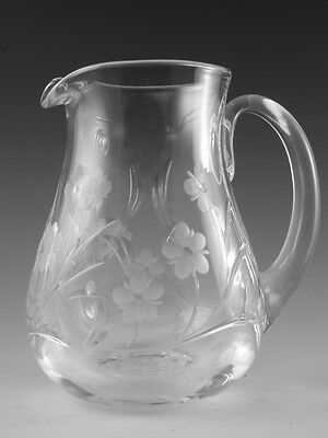 Royal DOULTON Crystal - BOUQUET Cut - Water Jug - 5 1/2""