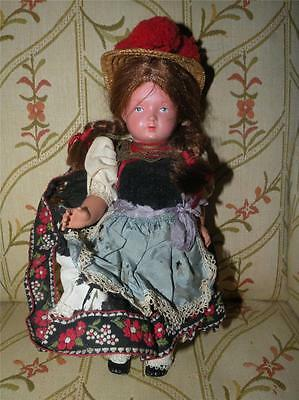 VINTAGE ETHNIC GERMAN FRENCH CELLUOID DOLL JOINTED ALL ORIGINAL