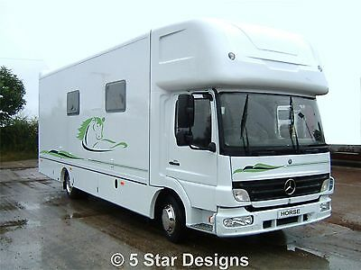 Horsebox Graphics Vinyls Decals HB004
