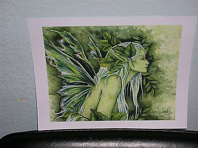 Amy Brown - The Green Woman - OUT OF PRINT
