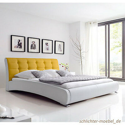 polsterbett rio bett kunstlederbett designerbett. Black Bedroom Furniture Sets. Home Design Ideas