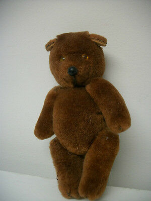 """Bear Vintage Toy Brown Jointed Small 5.5""""  Vntg  Collectible"""