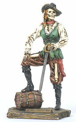 Anne Bonney Pirate Statue/Figurine Poly Resin 8 inches Tall