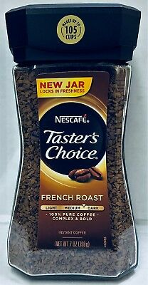 Nescafe Taster's Choice Instant Coffee French Roast 7 oz Tasters Choice